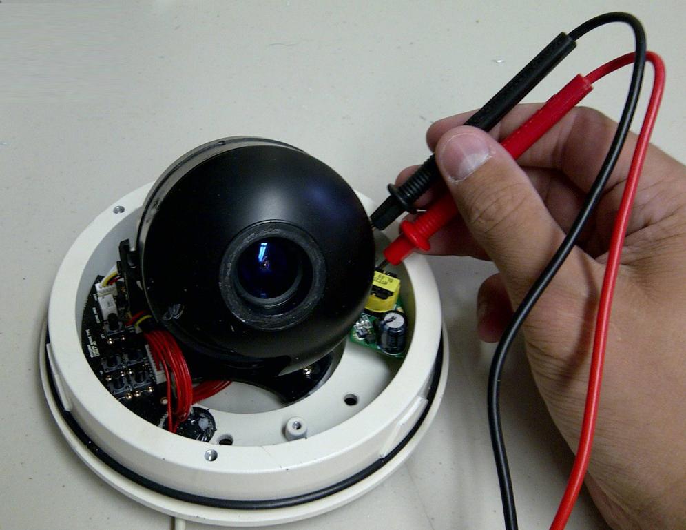 IP-камера прозвон цепи