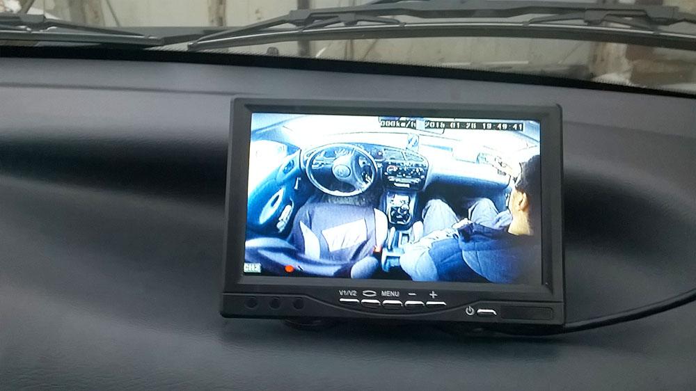 Видеонаблюдение в автомобиле