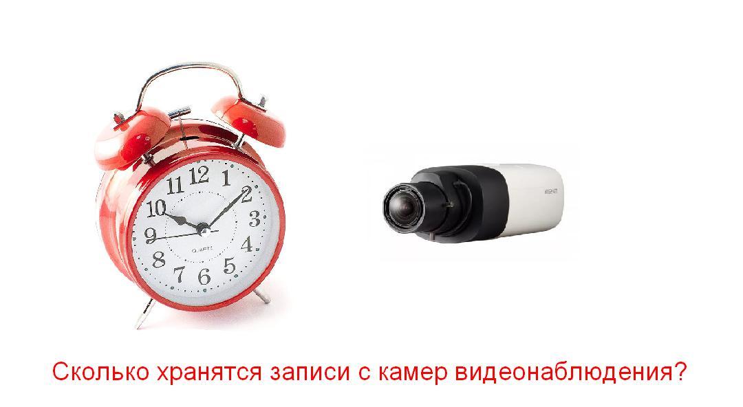 Сколько дней хранятся записи с камер