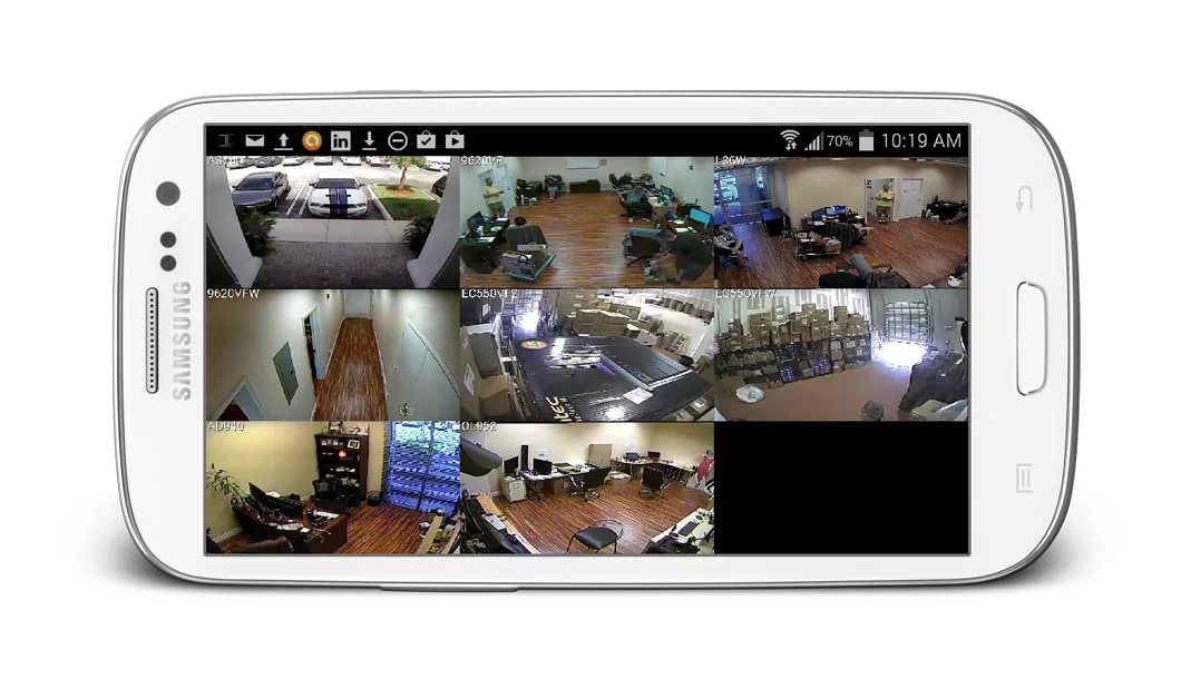 Смартфон как камера видеонаблюдения