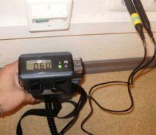 Измерение сопротивления изоляции кабеля
