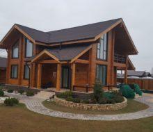 Постройка дома из профилированного бруса, подготовительный процесс и геодезические работы