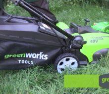 Описание и преимущества газонокосилок Greenworks