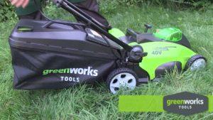 преимущества газонокосилок Greenworks
