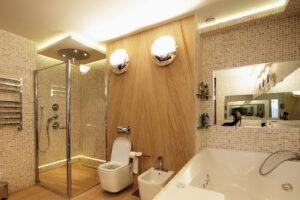 Свет в ванной комнате и туалете