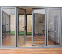 Материалы для алюминиевой входной двери