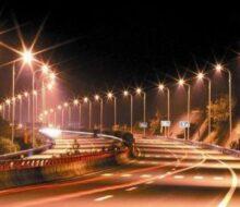 Нюансы освещения автомобильных дорог